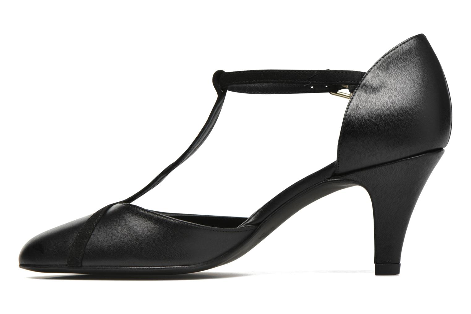 High heels Minelli Tilt Black front view