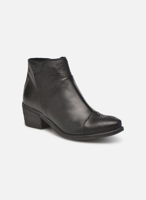 Ankle boots Khrio Sorolono Black detailed view/ Pair view