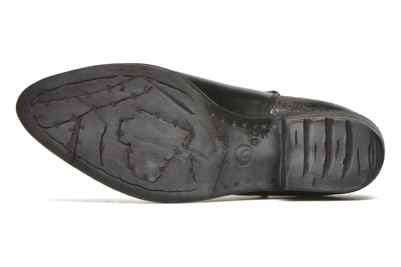 Bottines et boots Khrio Soraca Noir vue haut