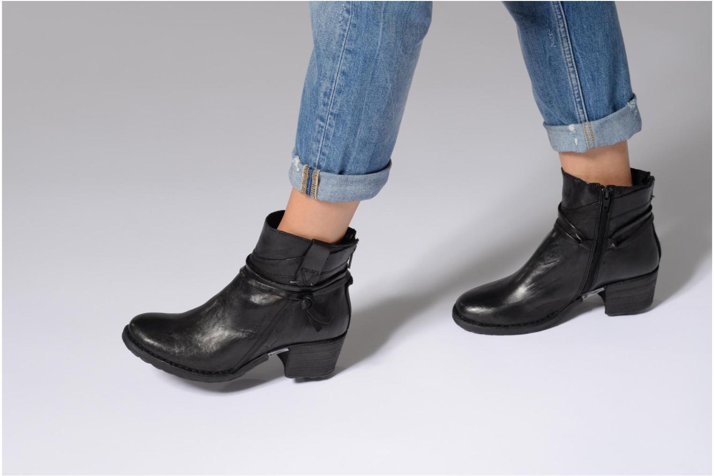 Bottines et boots Khrio Oréona Noir vue bas / vue portée sac