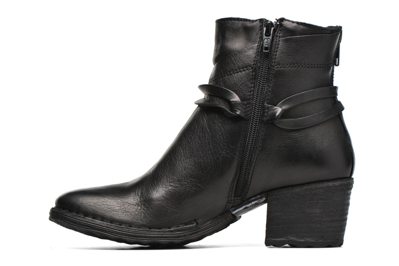 Bottines et boots Khrio Oréona Noir vue face