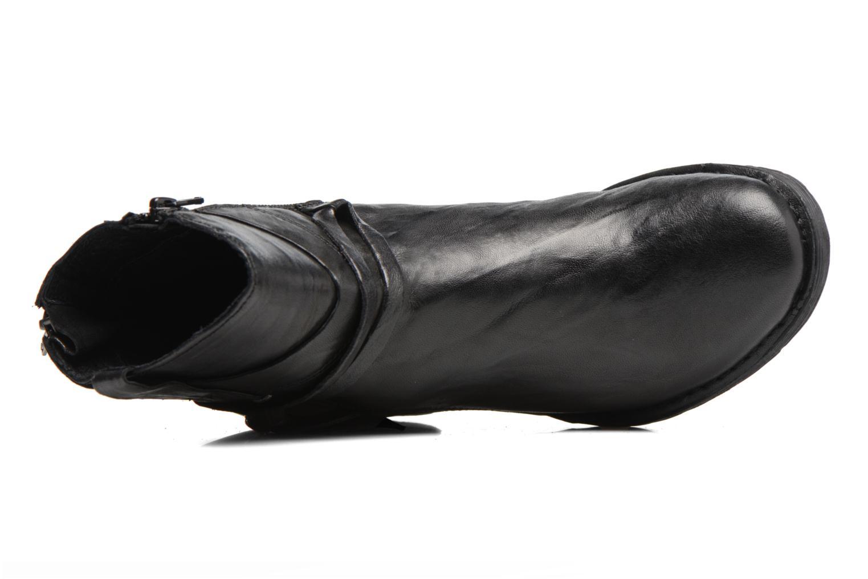 Botines  Khrio Oréona Negro vista lateral izquierda