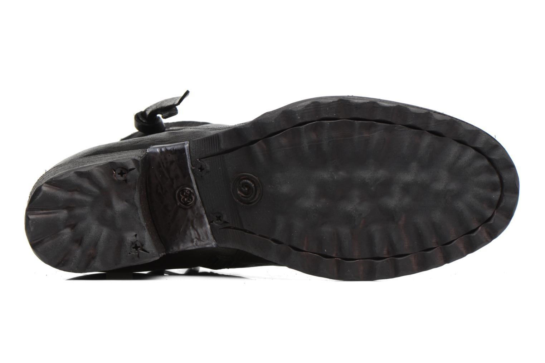 Botines  Khrio Oréona Negro vista de arriba
