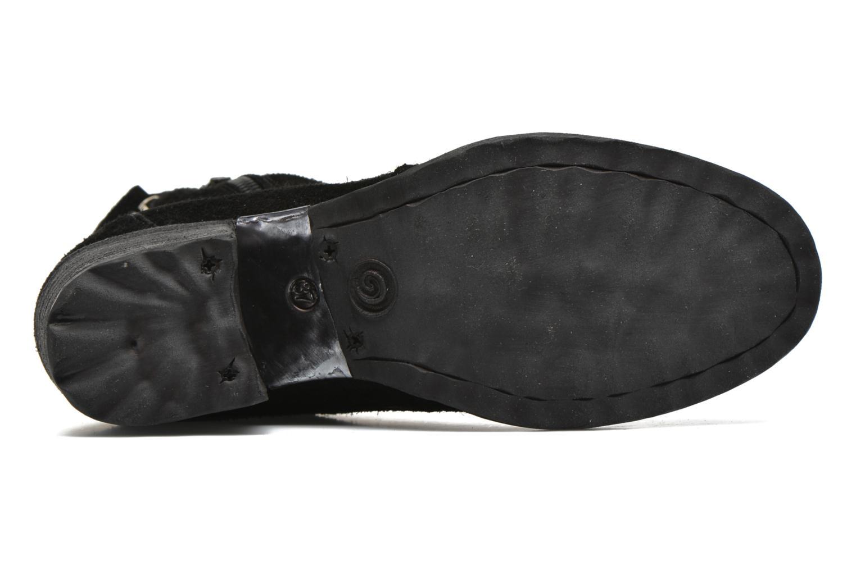 Bottines et boots Khrio Michini Noir vue haut