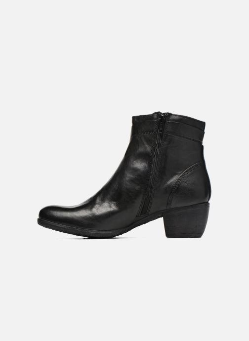 Bottines et boots Khrio Carina Noir vue face