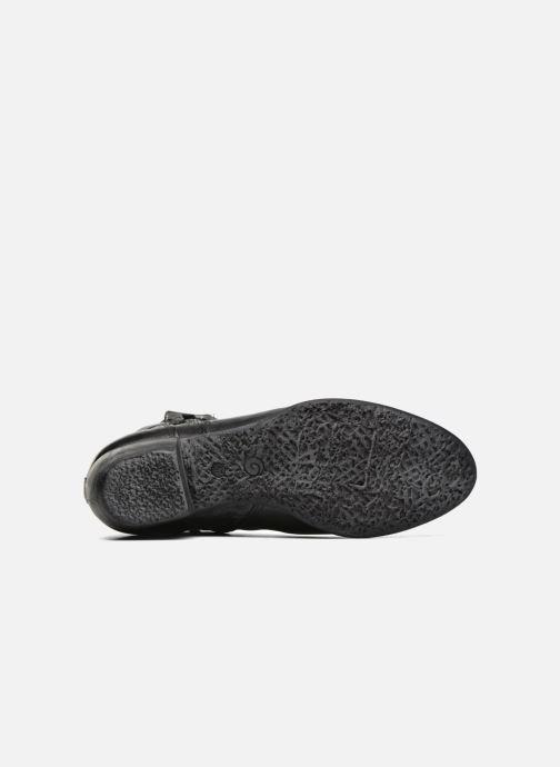 Bottines et boots Khrio Carina Noir vue haut