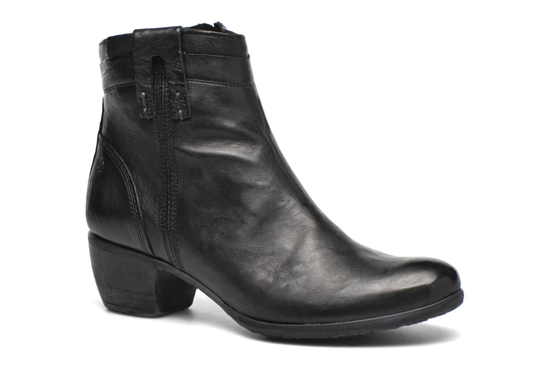 Boots en enkellaarsjes Khrio Carina Zwart detail