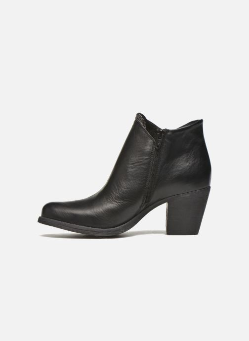Bottines et boots Khrio Marimba Noir vue face