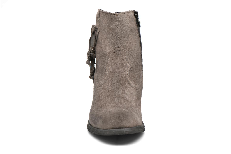 Bottines et boots Khrio Bijou Gris vue portées chaussures