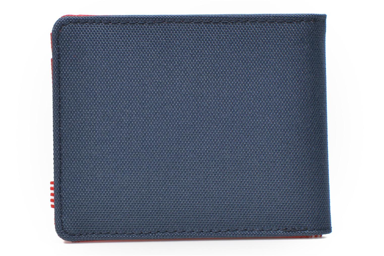 Kleine lederwaren Herschel ROY COIN Portefeuille Blauw voorkant