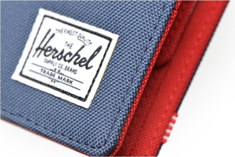 Kleine lederwaren Herschel ROY COIN Portefeuille Blauw links