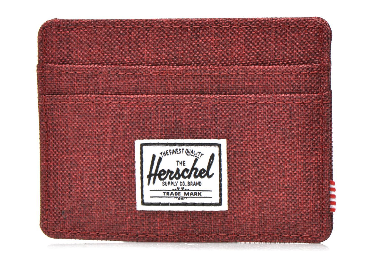 Petite Maroquinerie Herschel CHARLIE Porte-cartes Bordeaux vue détail/paire
