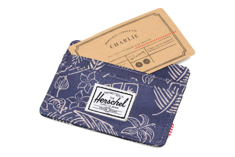 Petite Maroquinerie Herschel CHARLIE Porte-cartes Bleu vue derrière