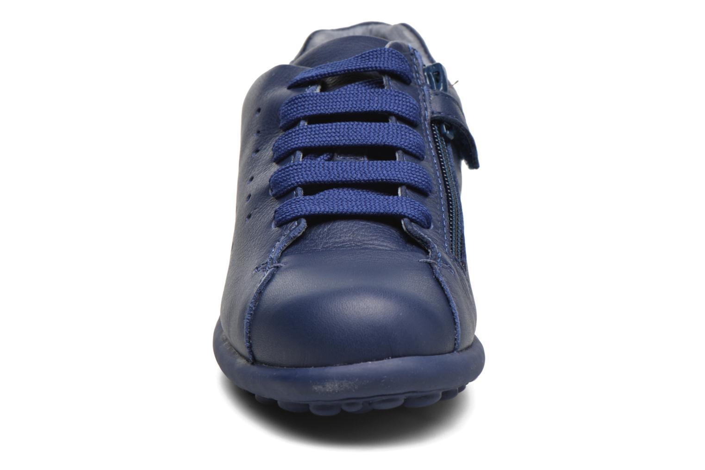 Baskets Camper New Pelotas Bleu vue portées chaussures