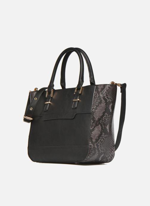 Handtaschen Clarks MAGNOLIA ROSE Porté main schwarz schuhe getragen