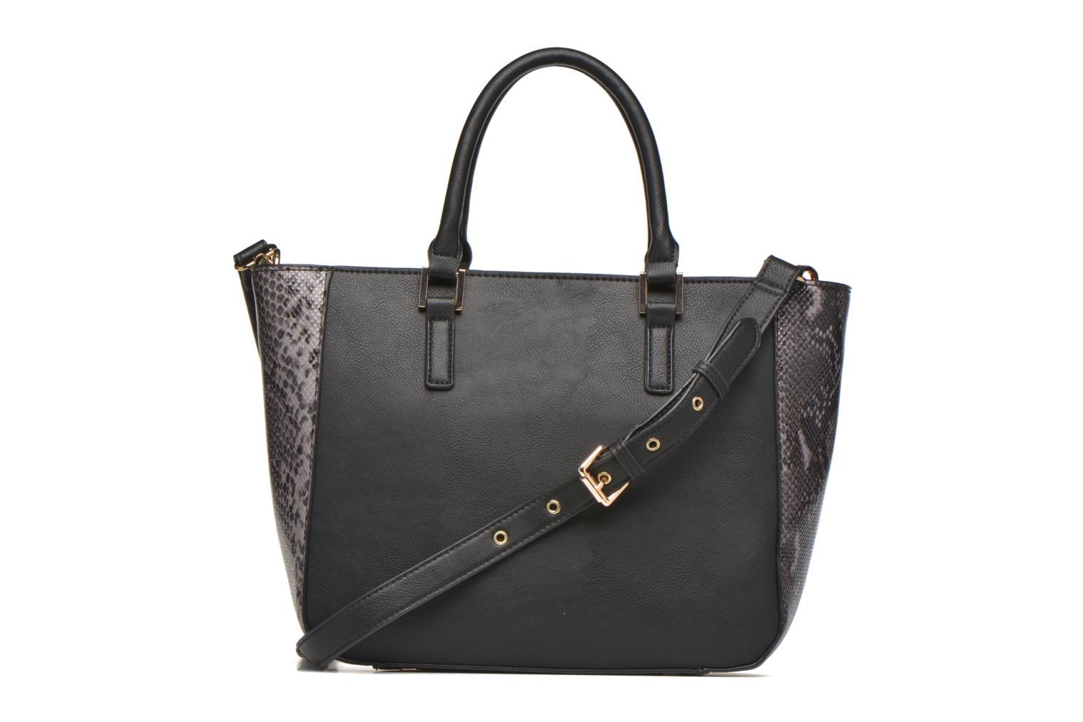 Handbags Clarks MAGNOLIA ROSE Porté main Black front view