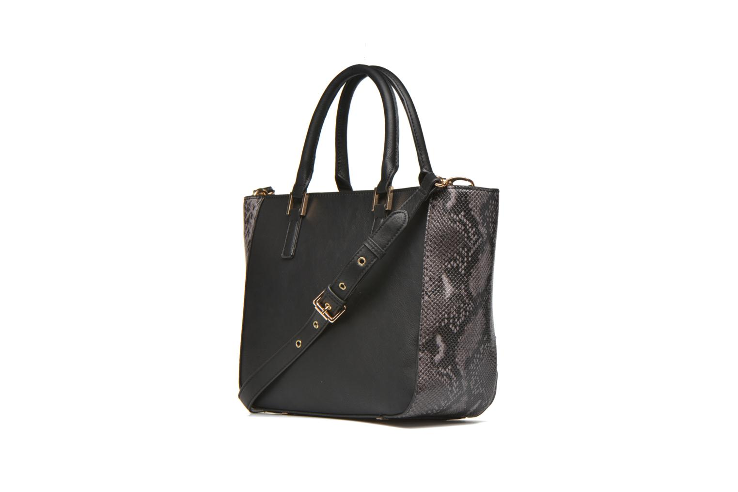 Handbags Clarks MAGNOLIA ROSE Porté main Black view from the right