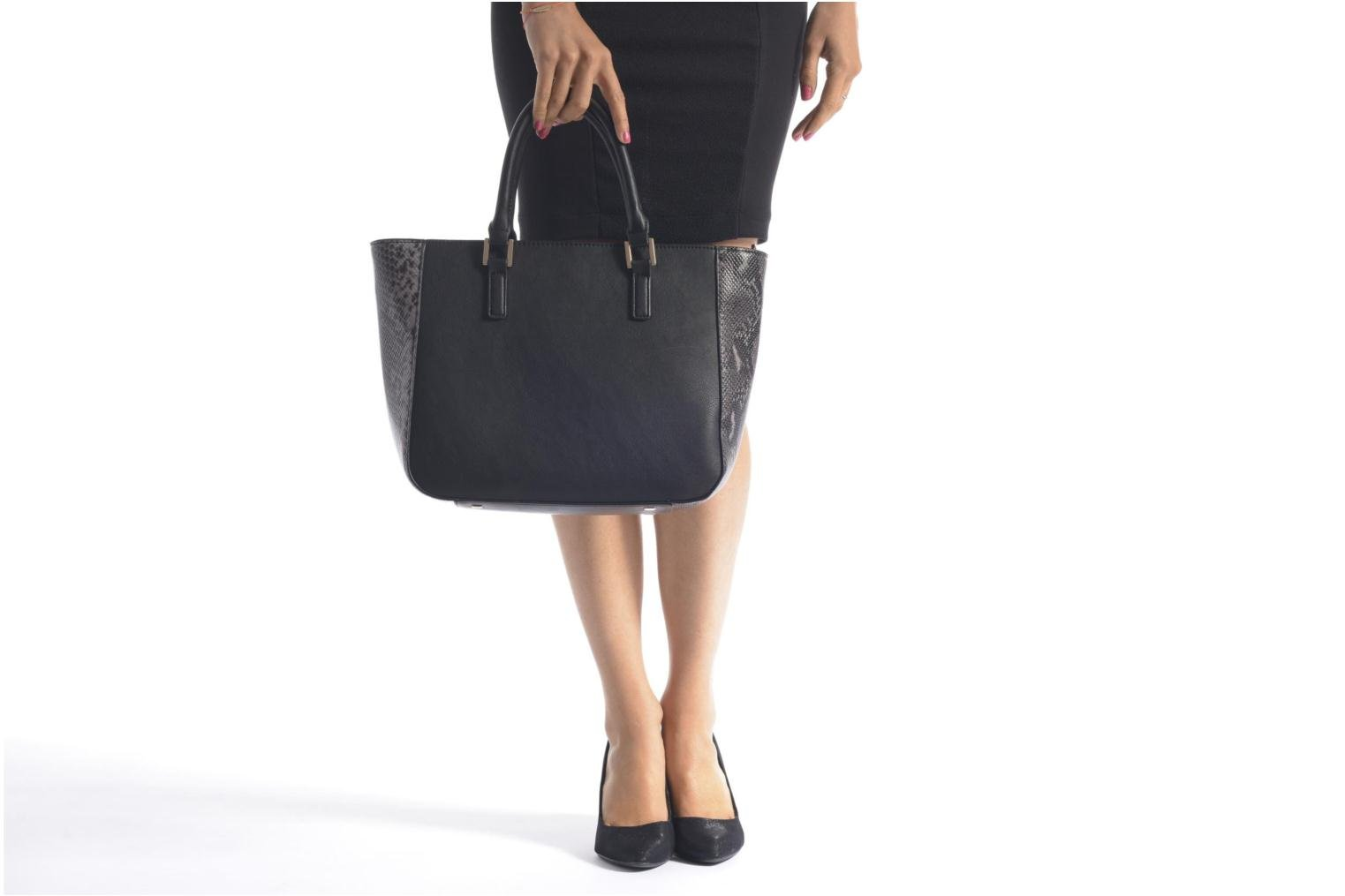 Handbags Clarks MAGNOLIA ROSE Porté main Black view from above