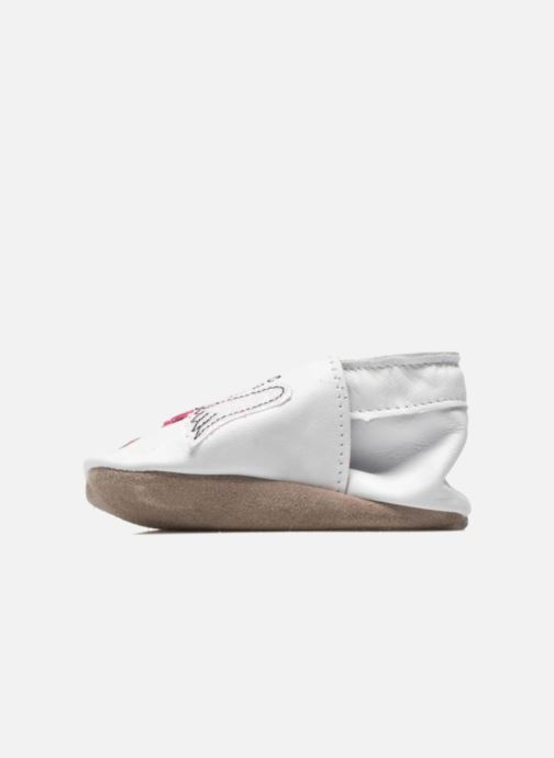 Chaussons Inch Blue Angel Blanc vue face
