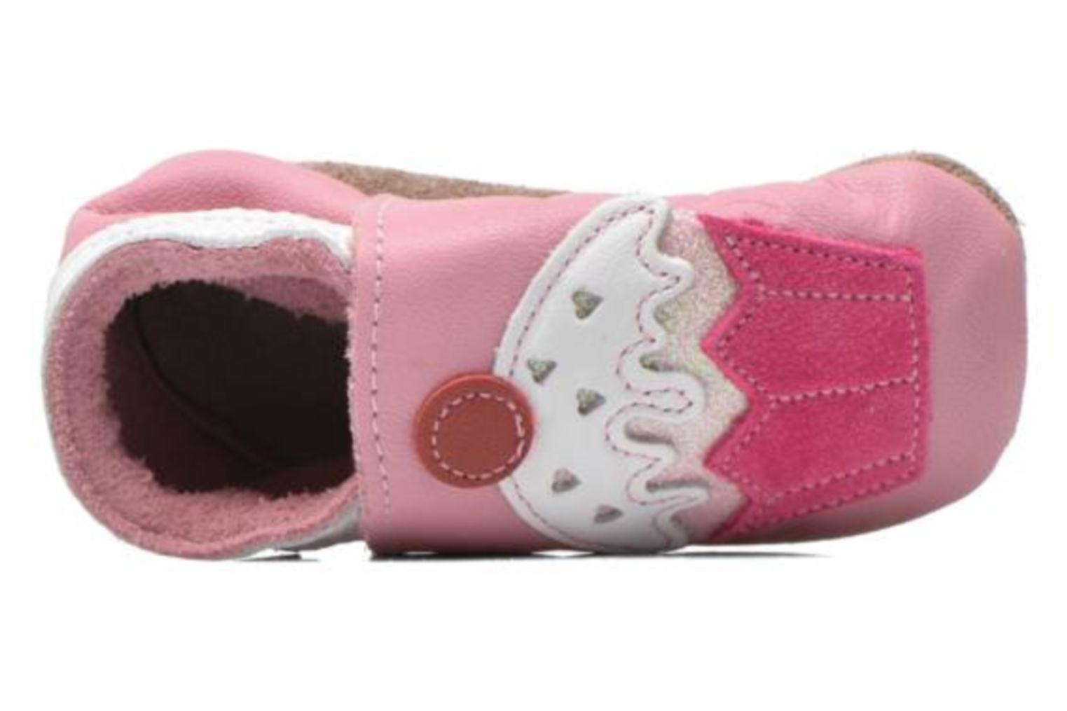 Chaussons Inch Blue Little Cupcake Rose vue gauche
