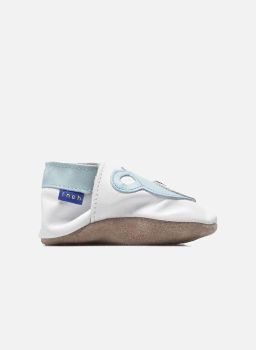Pantofole Inch Blue Teddy Blue Bianco immagine posteriore