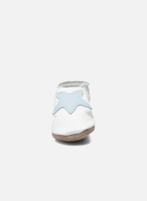 Hjemmesko Inch Blue Star Hvid se skoene på