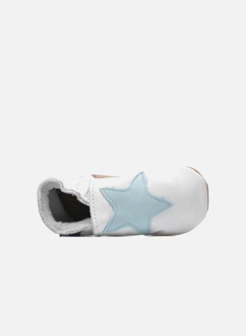 Hjemmesko Inch Blue Star Hvid se fra venstre