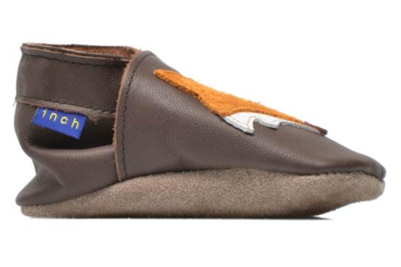 Pantoffels Inch Blue Mr Fox Bruin achterkant