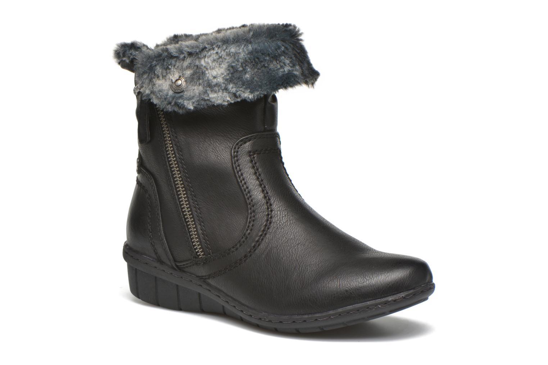 Boots en enkellaarsjes Hush Puppies INGRID Zwart detail