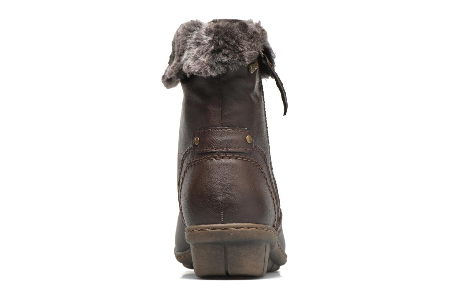 Ankle boots Hush Puppies INGRID Brown view from the right