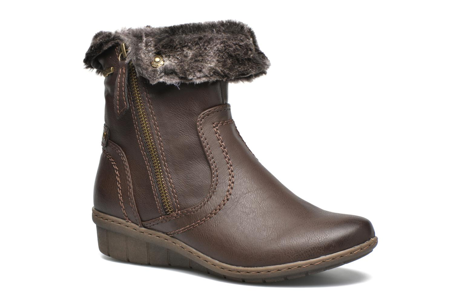 Ankle boots Hush Puppies INGRID Brown detailed view/ Pair view