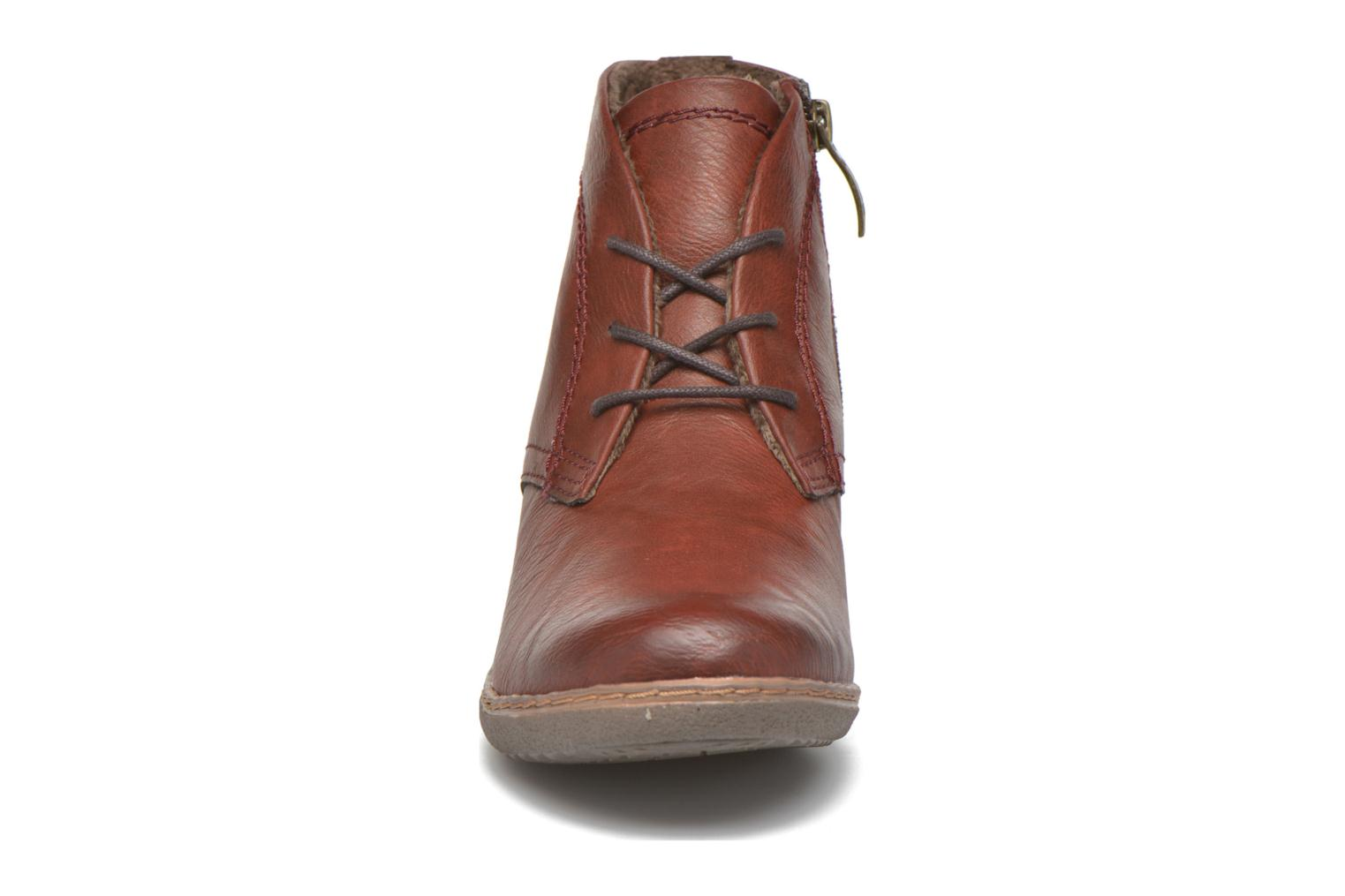Ankle boots Hush Puppies JULIA Brown model view