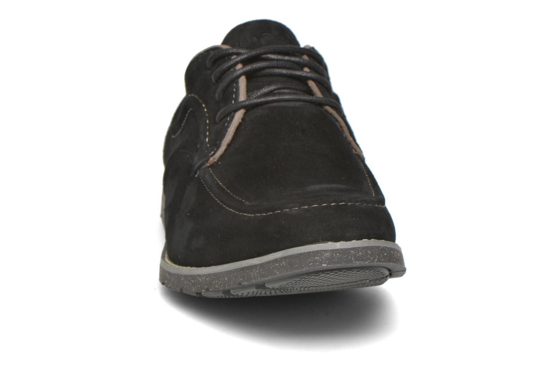 Zapatos con cordones Hush Puppies Hade Jester Negro vista del modelo