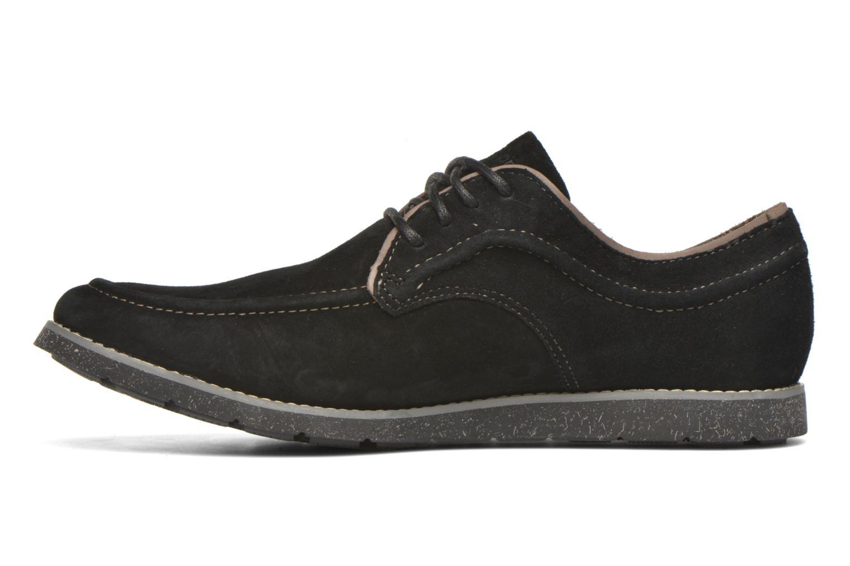Zapatos con cordones Hush Puppies Hade Jester Negro vista de frente