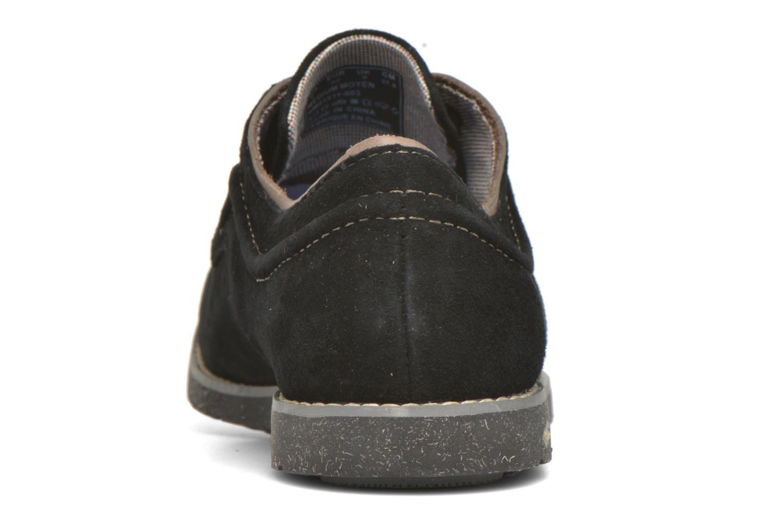 Zapatos con cordones Hush Puppies Hade Jester Negro vista lateral derecha