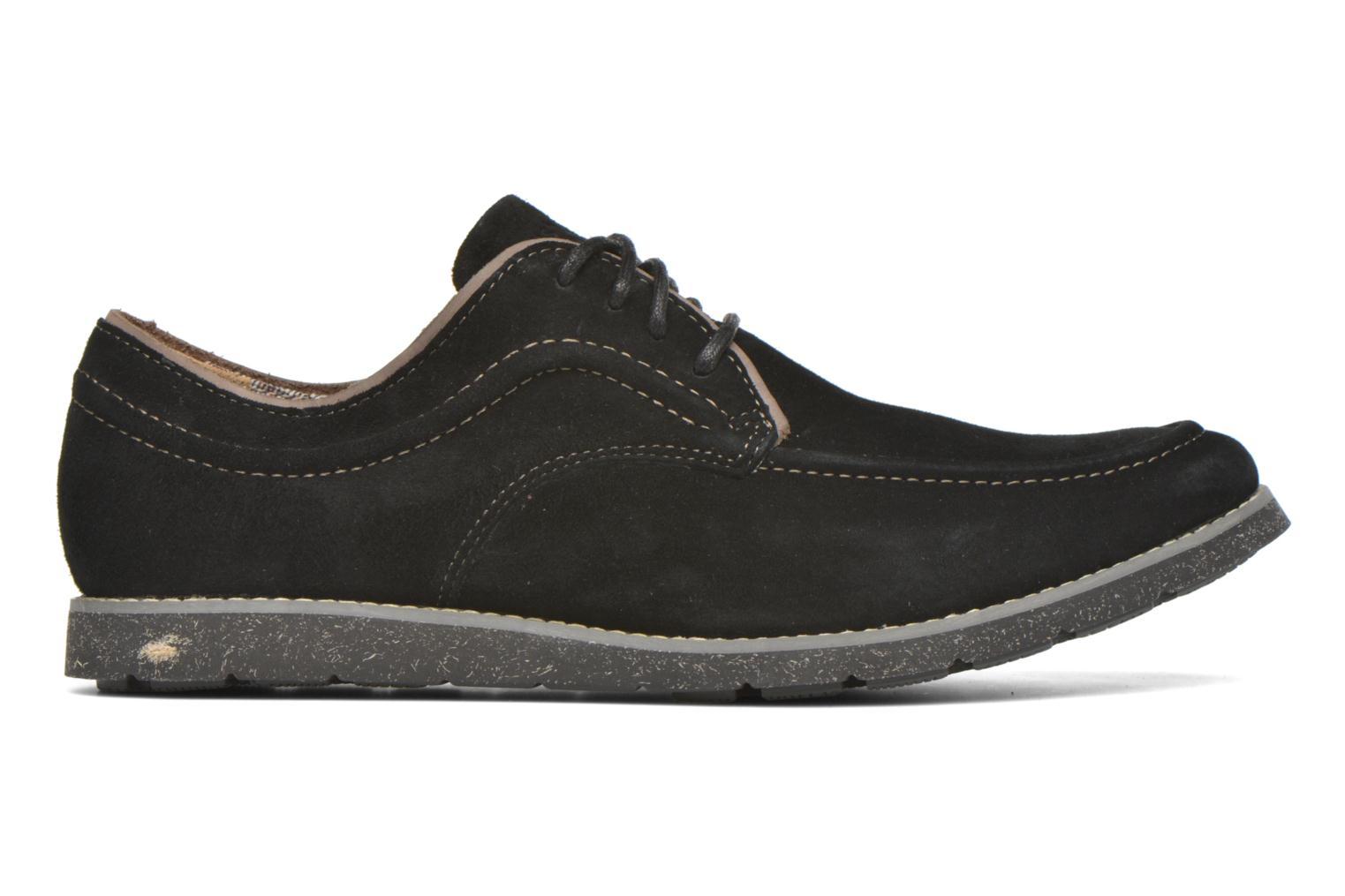 Lace-up shoes Hush Puppies Hade Jester Black back view