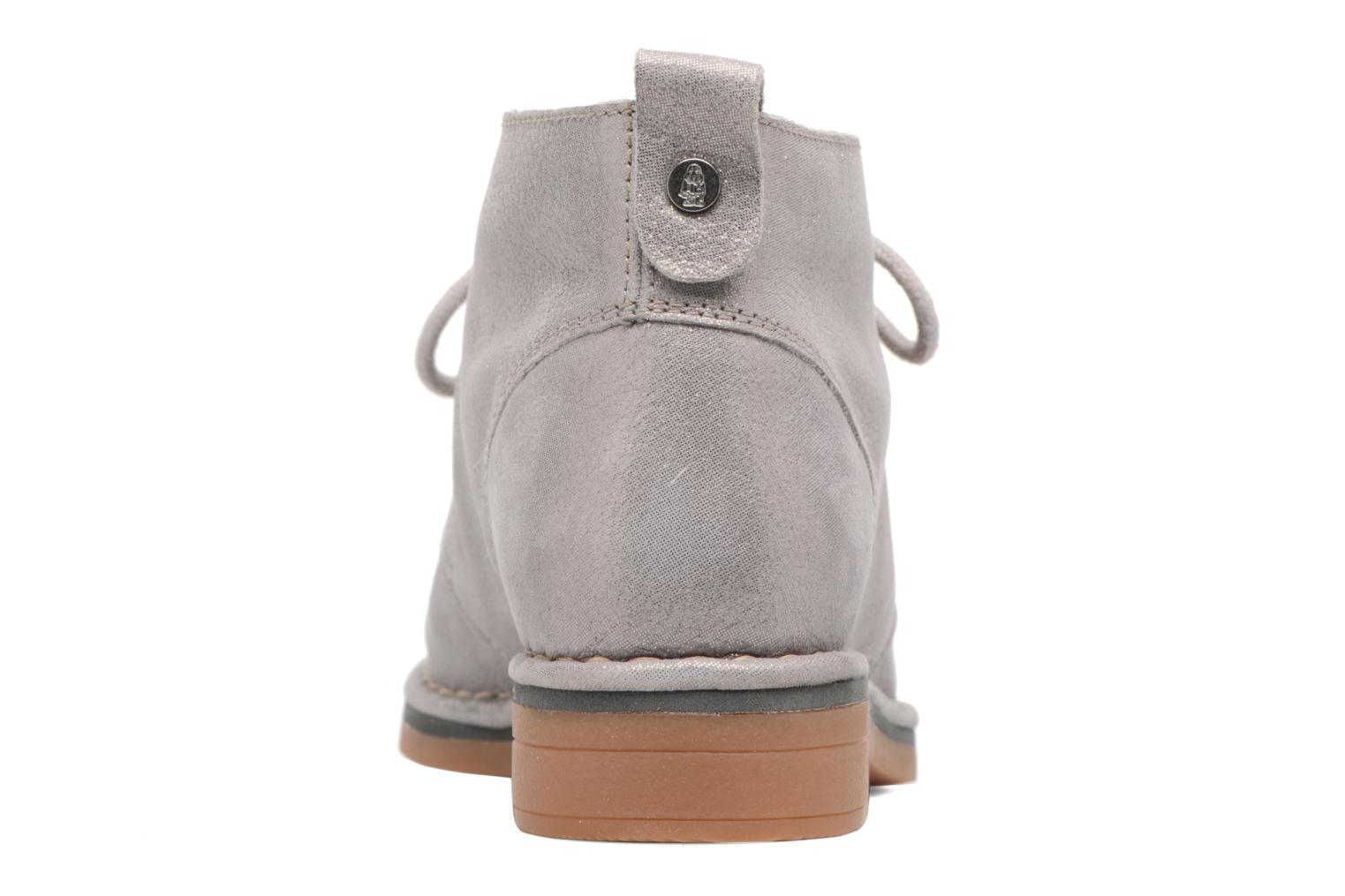 Botines  Hush Puppies Cyra Catelyn Gris vista lateral derecha