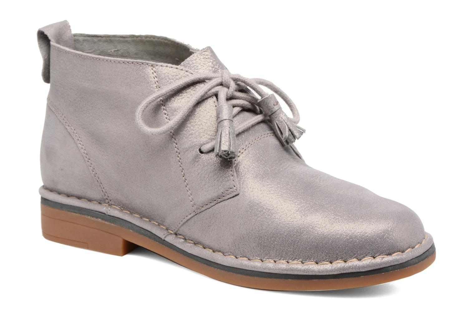 Botines  Hush Puppies Cyra Catelyn Gris vista de detalle / par