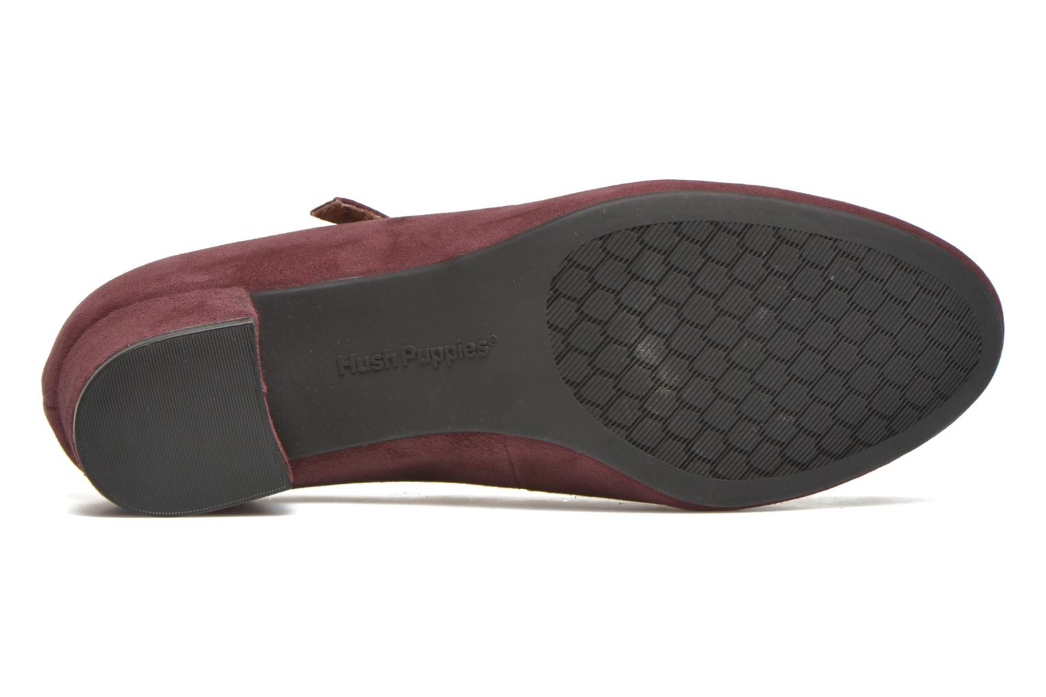 High heels Hush Puppies Nara Discover Burgundy view from above