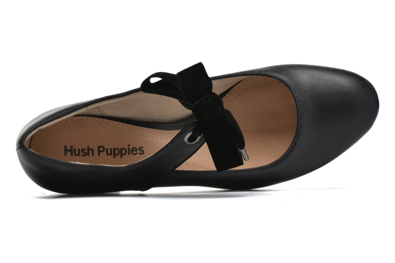 Zapatos de tacón Hush Puppies Margot Langdon Negro vista lateral izquierda