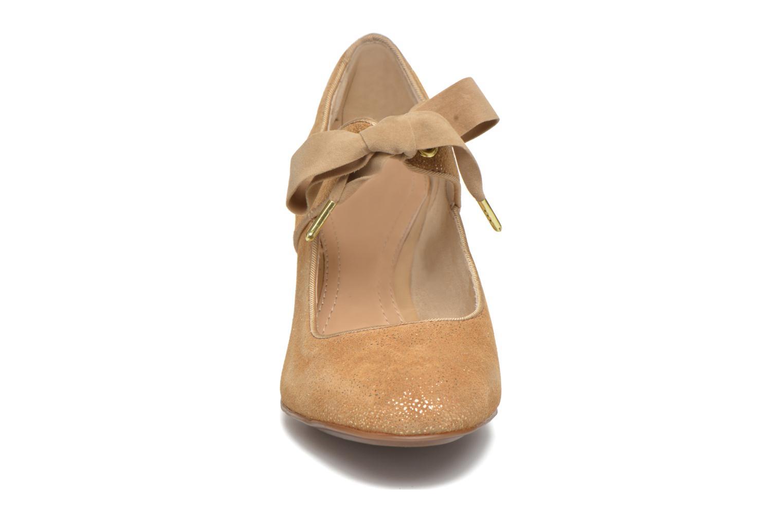 Escarpins Hush Puppies Margot Langdon Or et bronze vue portées chaussures