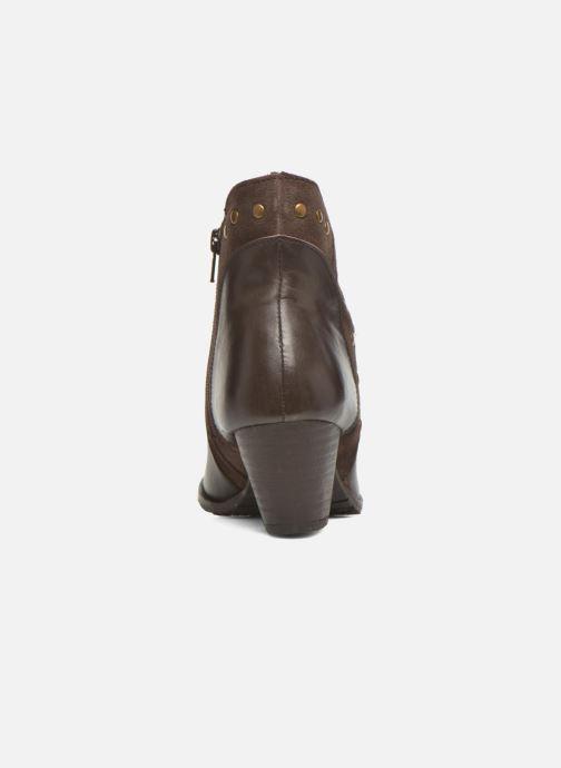 Bottines et boots Hush Puppies KRIS Marron vue droite
