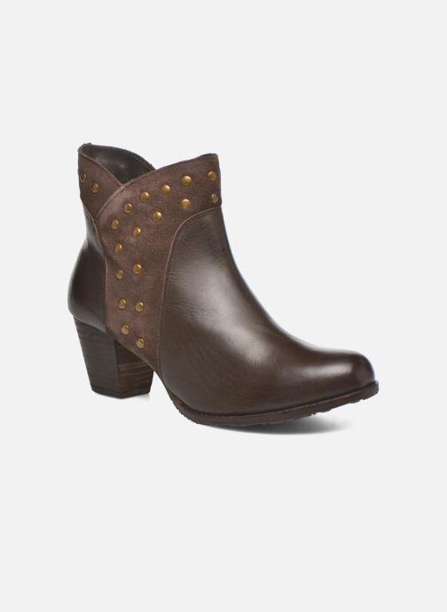 Bottines et boots Hush Puppies KRIS Marron vue détail/paire