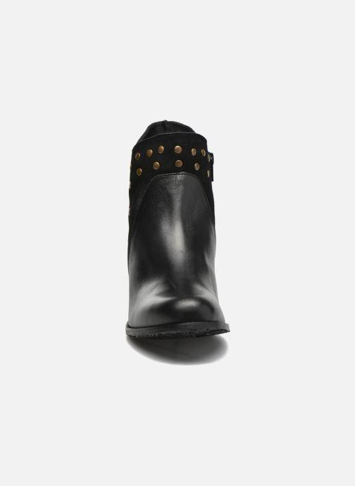 Bottines et boots Hush Puppies KRIS Noir vue portées chaussures
