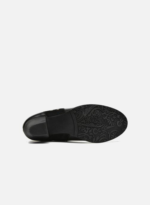 Bottines et boots Hush Puppies KRIS Noir vue haut