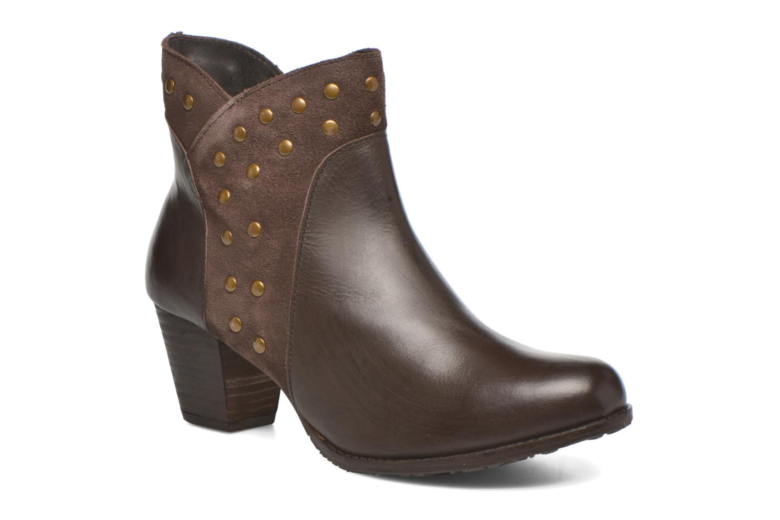 Ankle boots Hush Puppies KRIS Brown detailed view/ Pair view