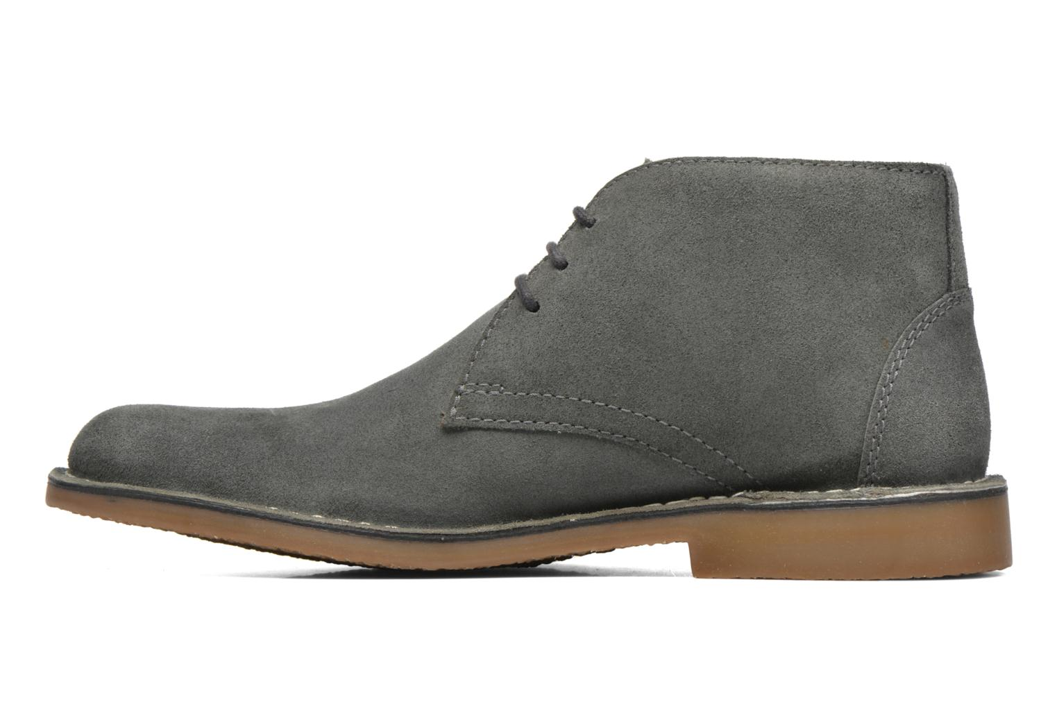 Chaussures à lacets Hush Puppies Lord Gris vue face