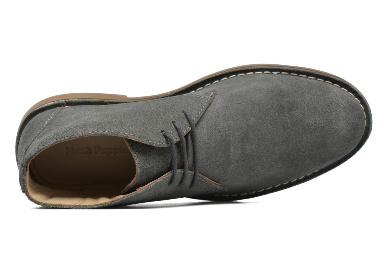 Chaussures à lacets Hush Puppies Lord Gris vue gauche