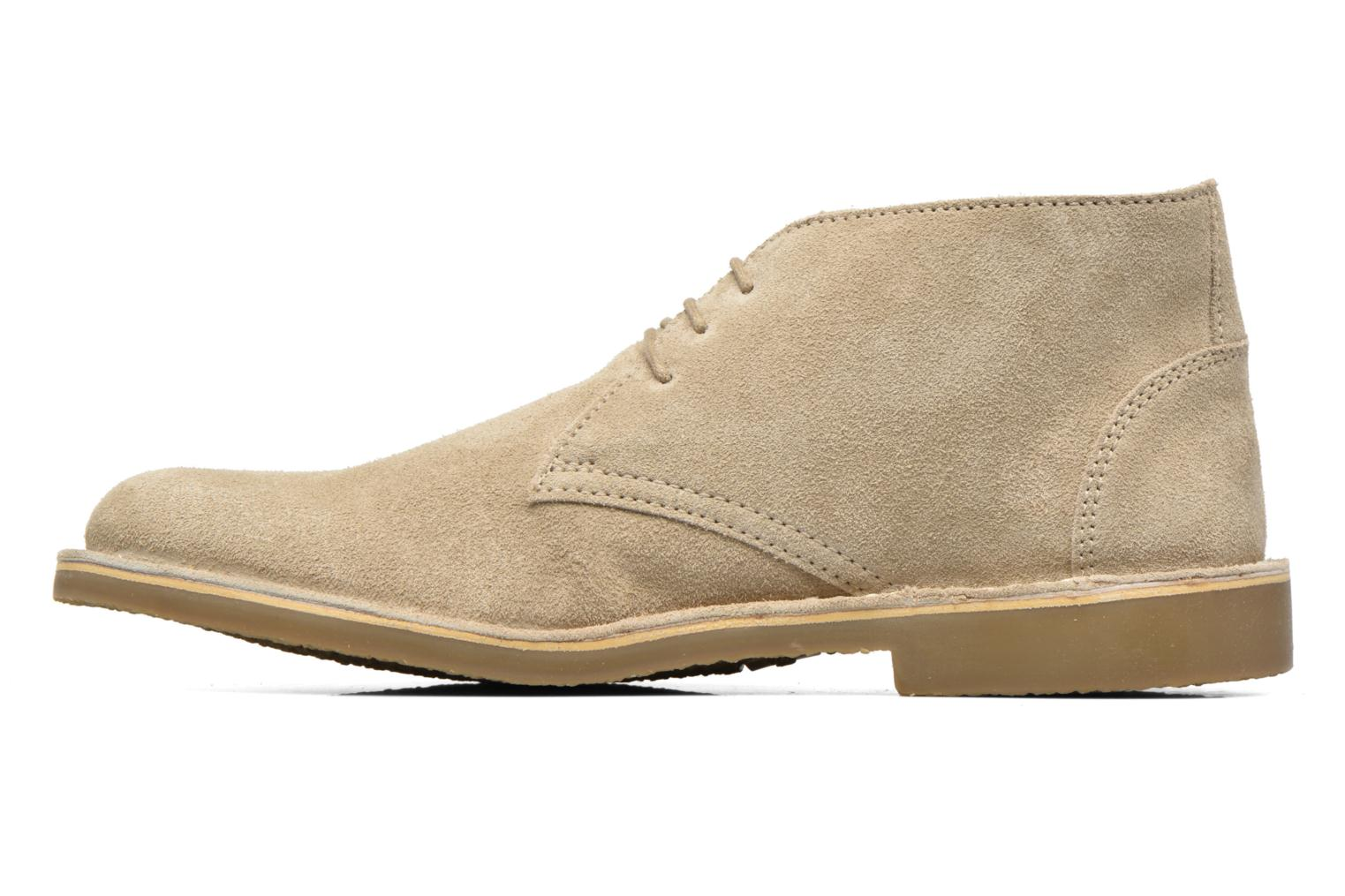 Chaussures à lacets Hush Puppies Lord Beige vue face