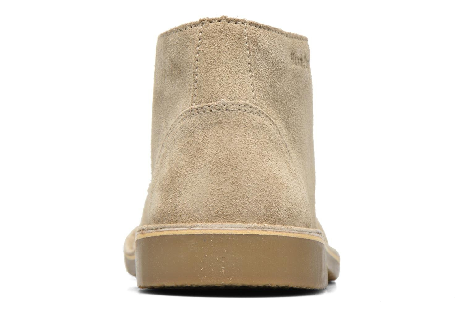 Chaussures à lacets Hush Puppies Lord Beige vue droite
